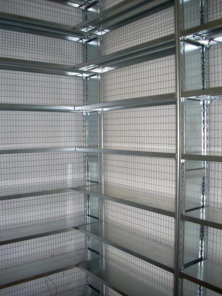 Rafturi metalice cu polite 600*1200*2500H-5NIV