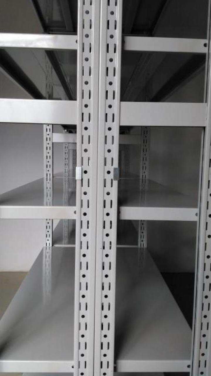 Rafturi metalice cu polite 600*1200*3000H-6NIV