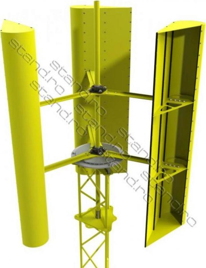 Turbina eoliana cu ax vertical 7,2kv 999