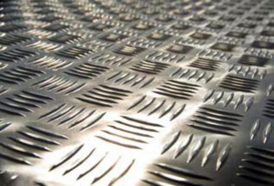 Tabla striata aluminiu 2.0x1000x2000 mm