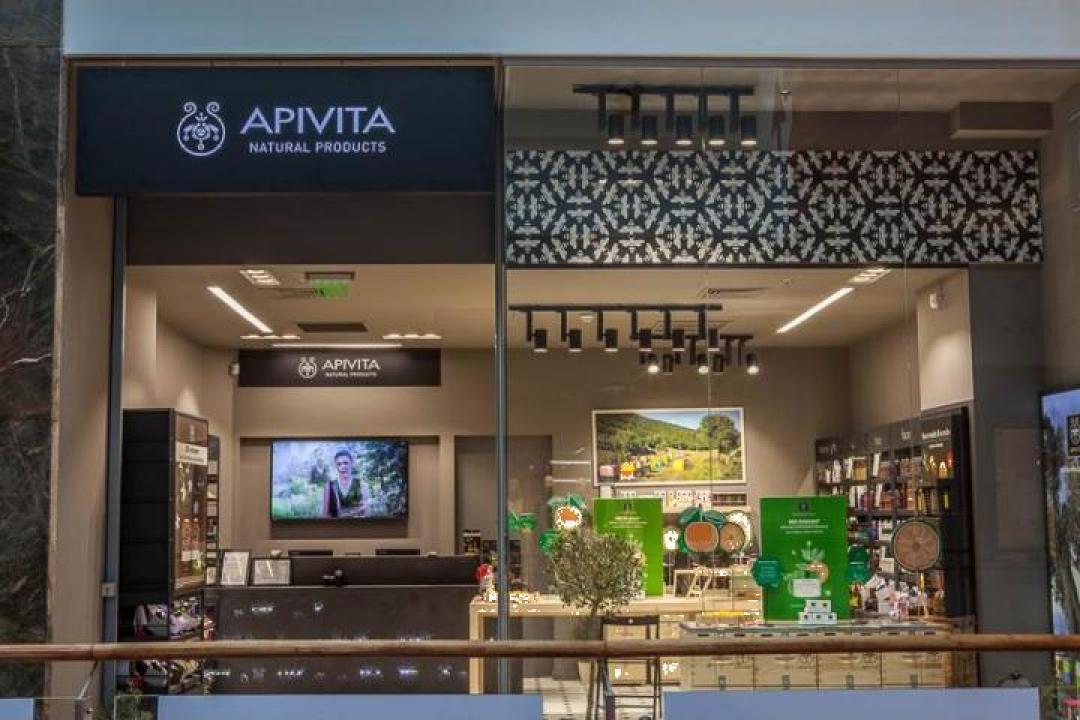 Mobilier farmacie Apivita