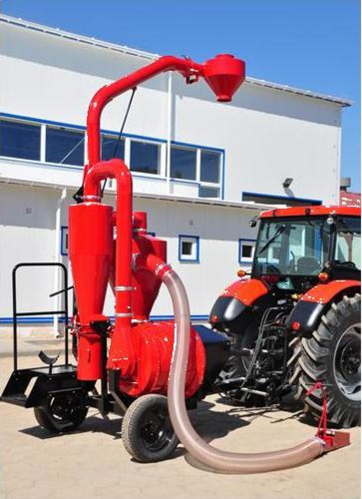 Transportor cereale pneumatic 43,5 tone/ora