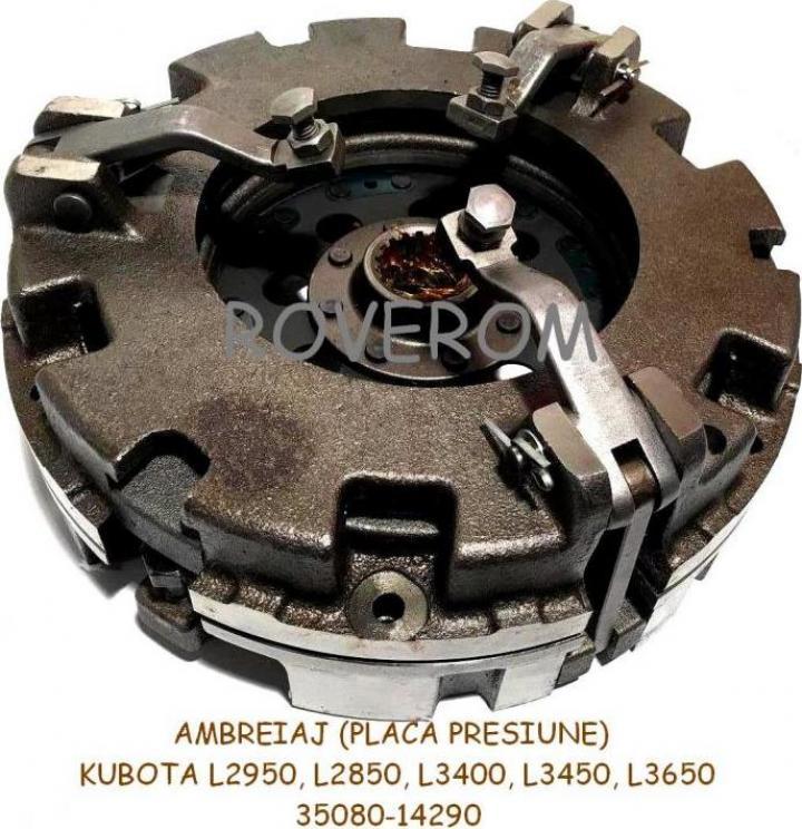 Ambreiaj (placa presiune) Kubota L2850, L2950, L3400, L3450