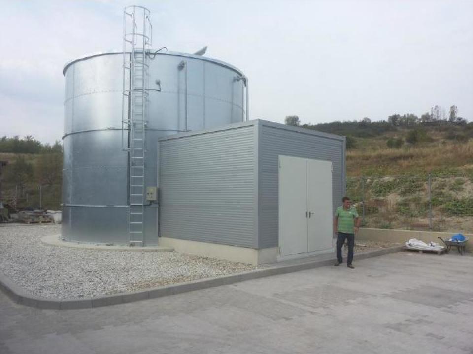 Rezervoare de apa potabila si incendiu