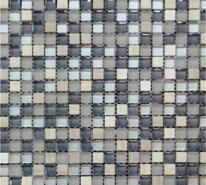 Mozaic marmura si sticla MMX009