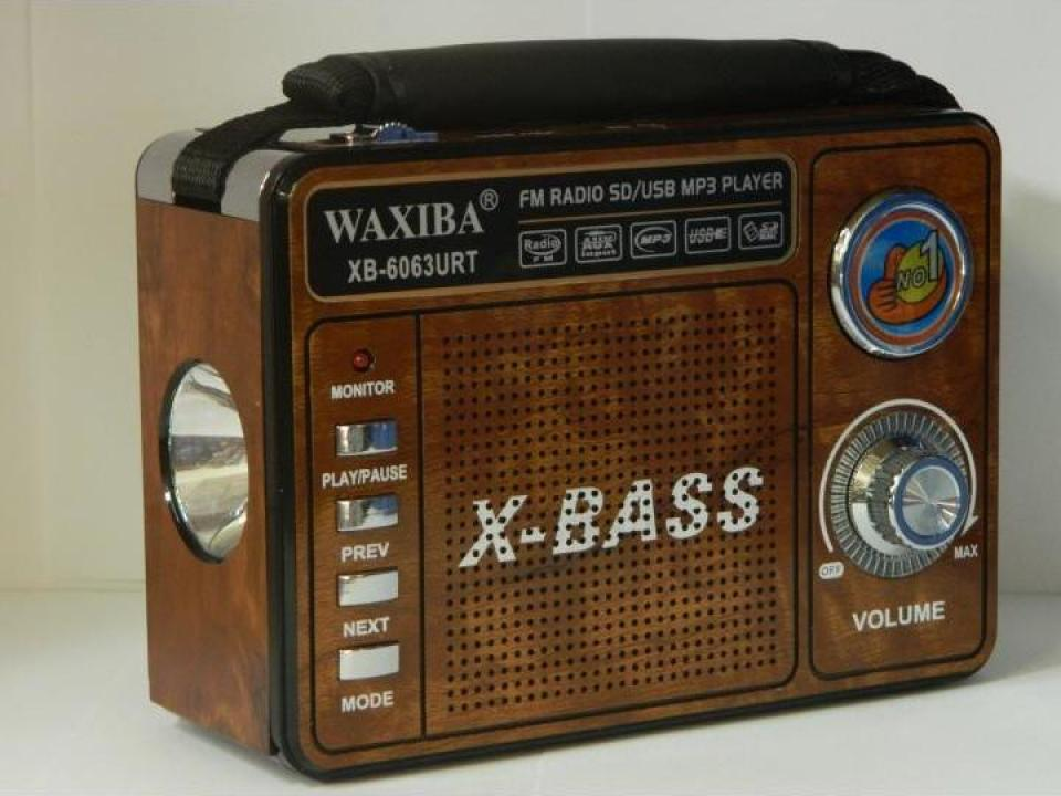 Radio portabil cu MP3 player Waxiba XB-6063URT