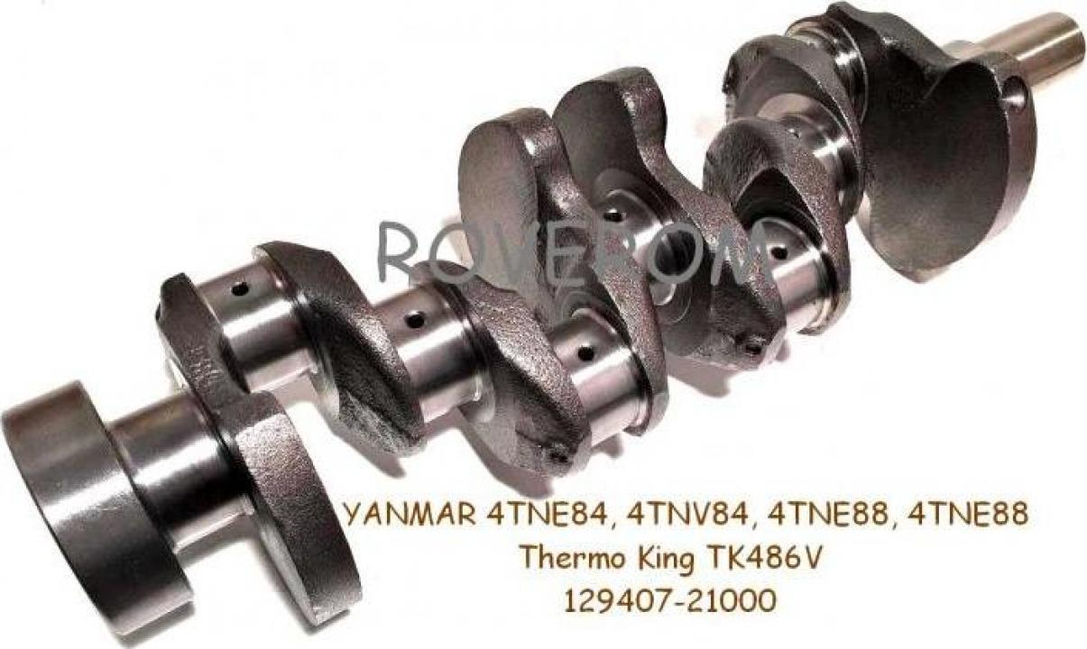 Arbore cotit Yanmar 4TNE84, 4TNV84, 4TNE88, 4TNE88