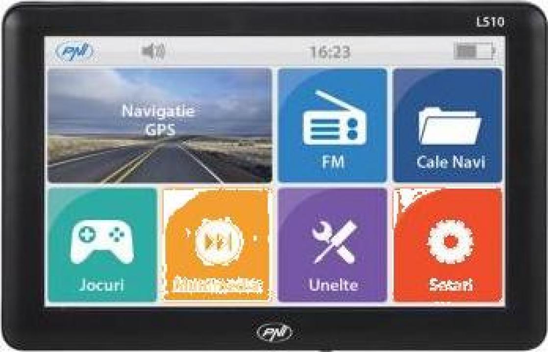 Sistem navigatie GPS PNI L510 cu harti full Europa soft Igo