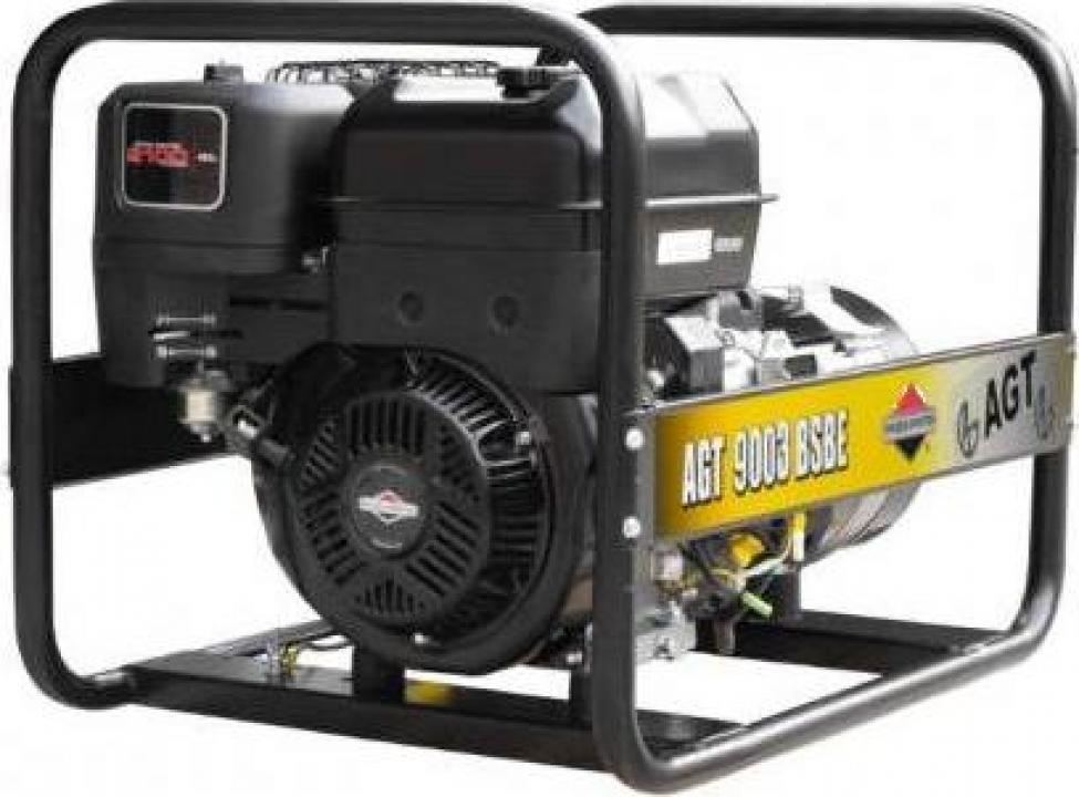 Generator trifazat AGT 9003 BSB SE, motor Briggs&Stratton