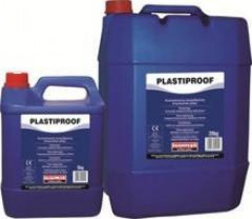 Aditiv pentru betoane Isomat Plastiproof 5 kg