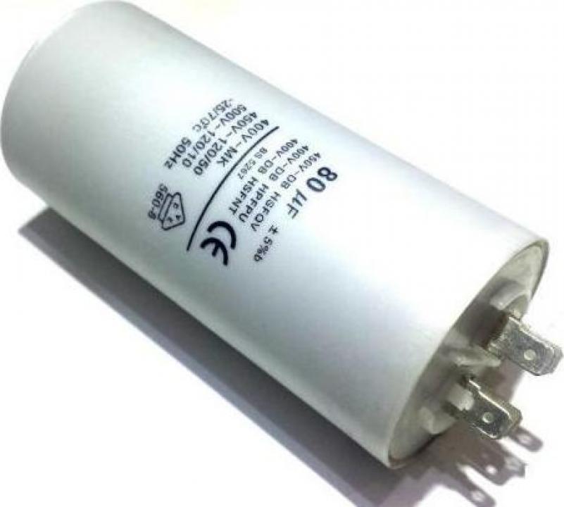 Condensator 80 F 450VAC