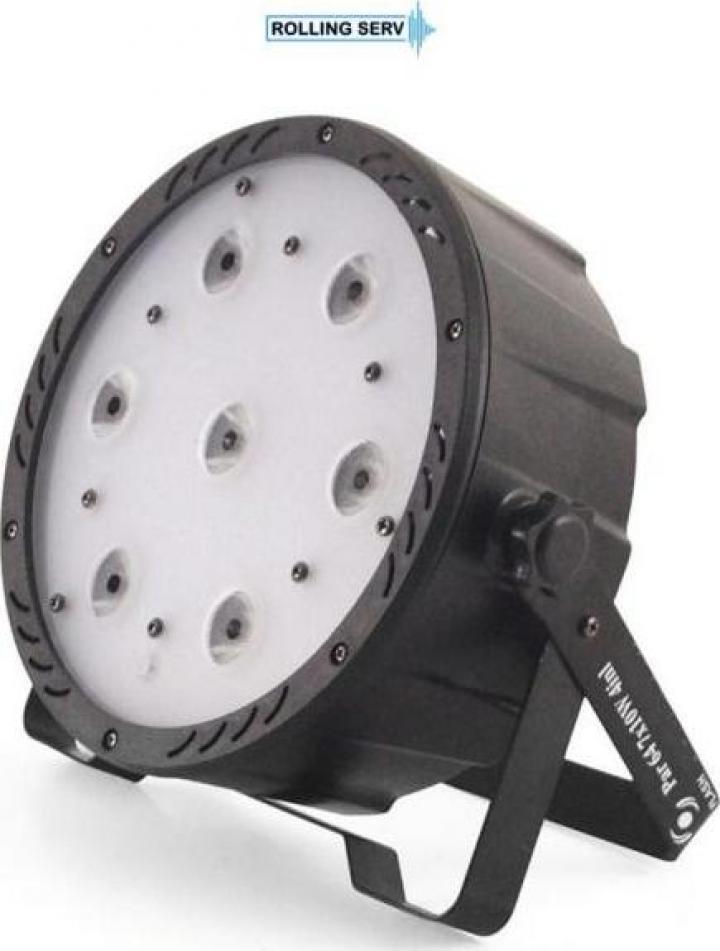 Proiector Flash LED PAR AURA 64 7X10W RGBW 4in1