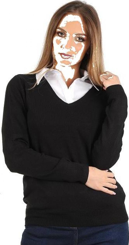 Pulover dama tricotat