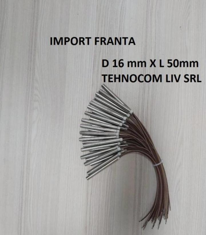 Cartus rezistenta L 50mm, P200-600W, diam. 16 mm