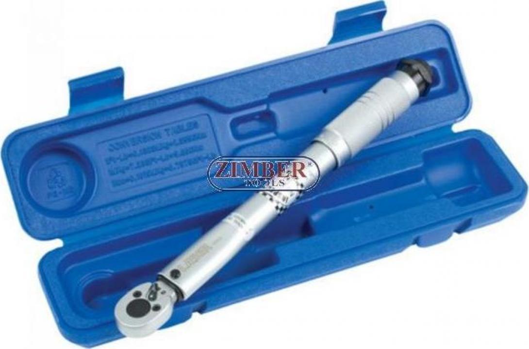 Cheie dinamometrica 6.3 mm 1/4- 5 - 25 Nm.960- BGS technic