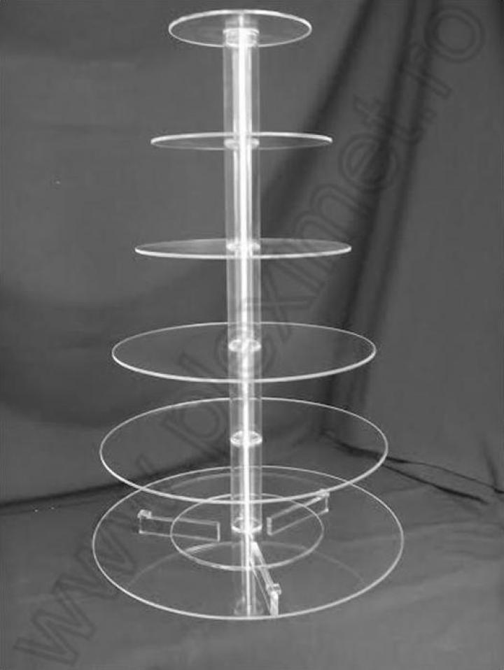 Suport circular cu 6 nivele pentru tort SPEv 13.2