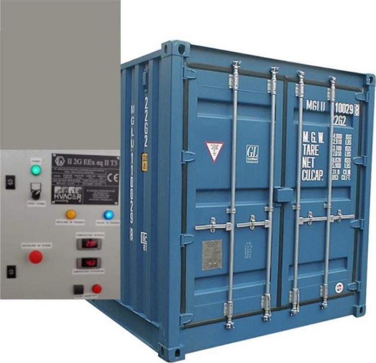 Container cu temperatura controlata
