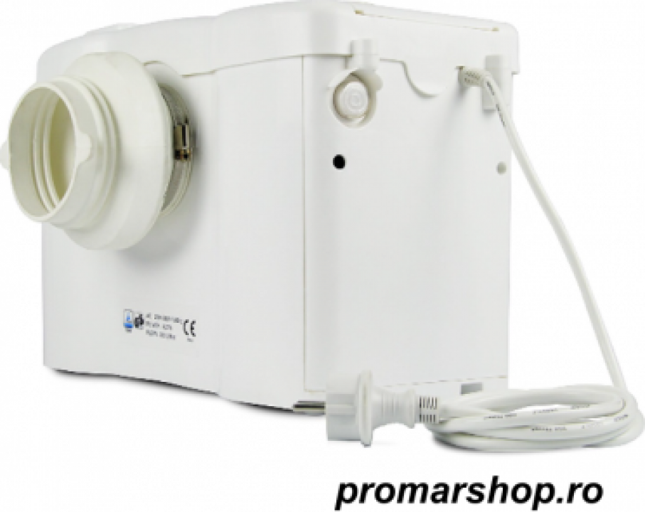 Pompa cu tocator wc Si alarma Sanitrit H600-D