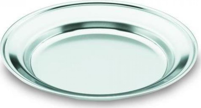 Farfurie inox intinsa 22 cm