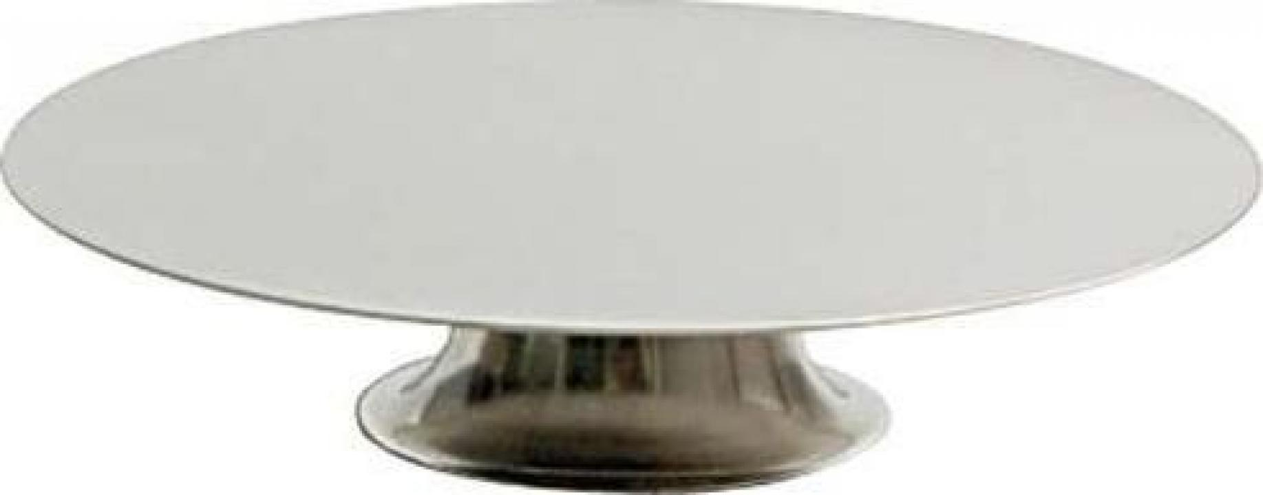 Suport inox rotativ pentru tort 30 cm.