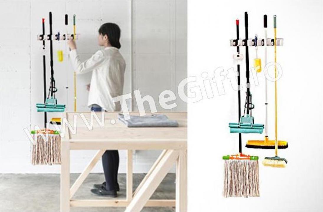 Suport pentru unelte, maturi, mopuri, Ez Holders