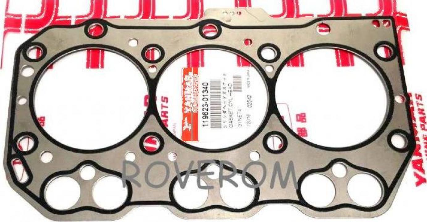 Garnitura chiuloasa Yanmar 3TNE74, Komatsu 3D74E (metal