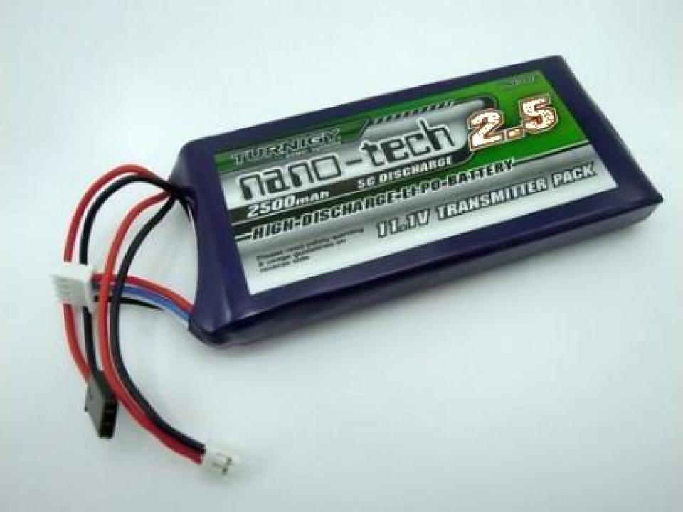 Acumulator LiPo Turnigy 11.1 V/ 2500 mA/ 5-10C Flat