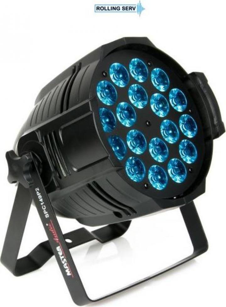 Proiector LED PAR SPC149P2 RGBWAP