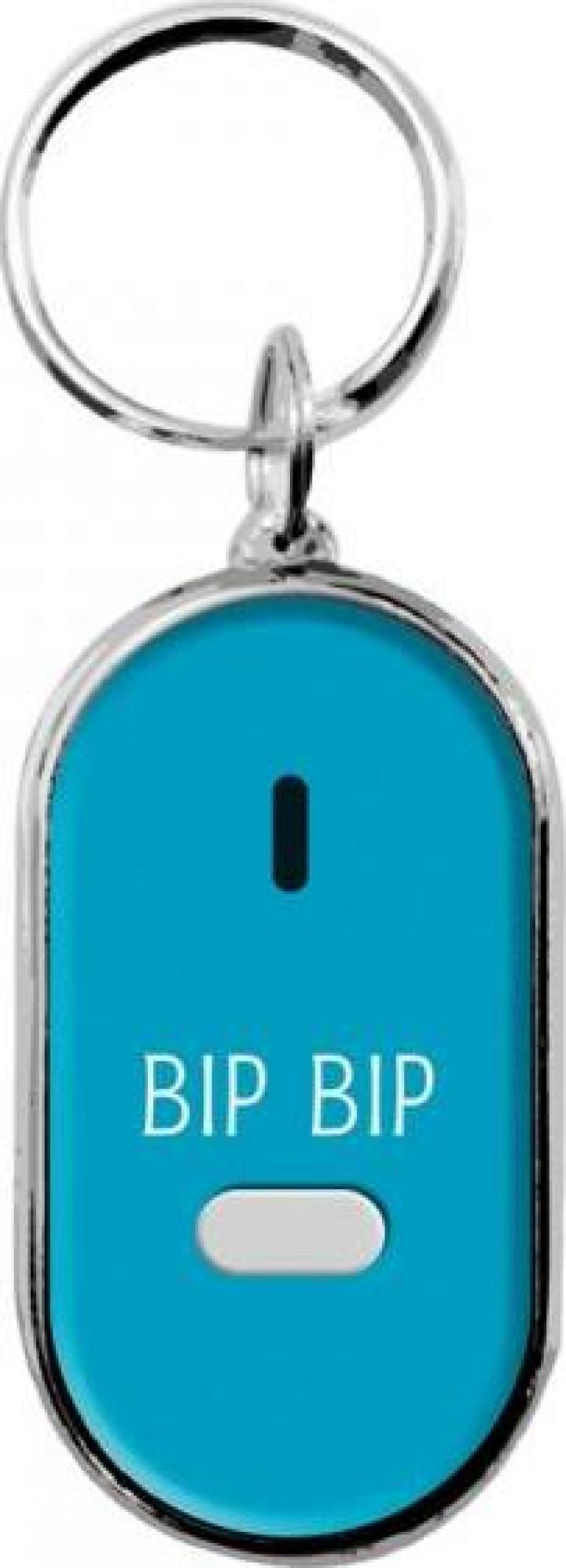 Breloc pentru gasire chei - bleu