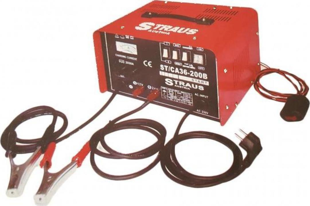 Redresor baterii auto Straus Austria ST/CA36-200B