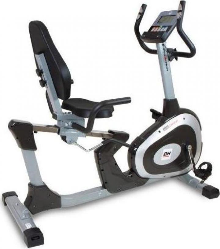 Bicicleta cu spatar BH Fitness Artic Comfort