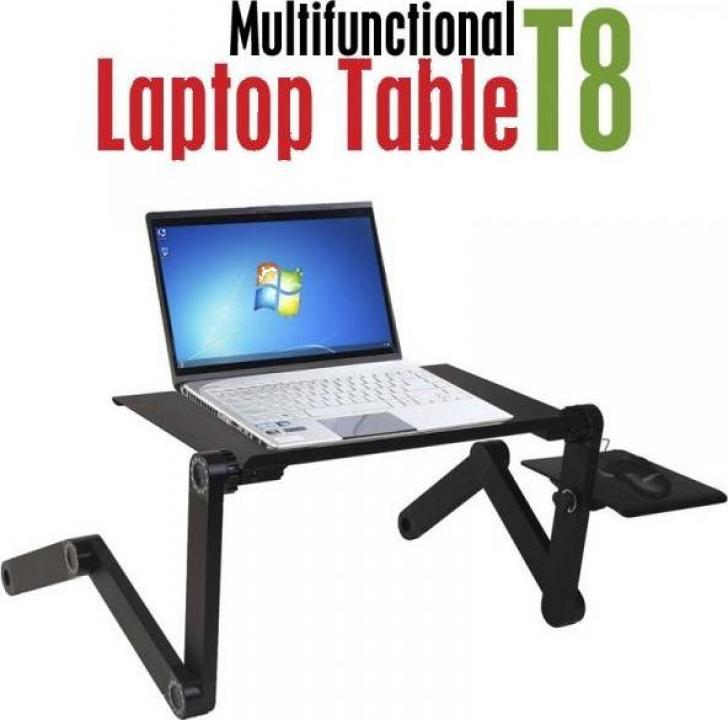 Masuta reglabila si pliabila pentru laptop T8