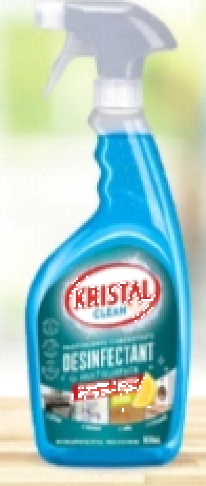 Solutie hidroalcoolica (63%) pentru suprafete Cristal