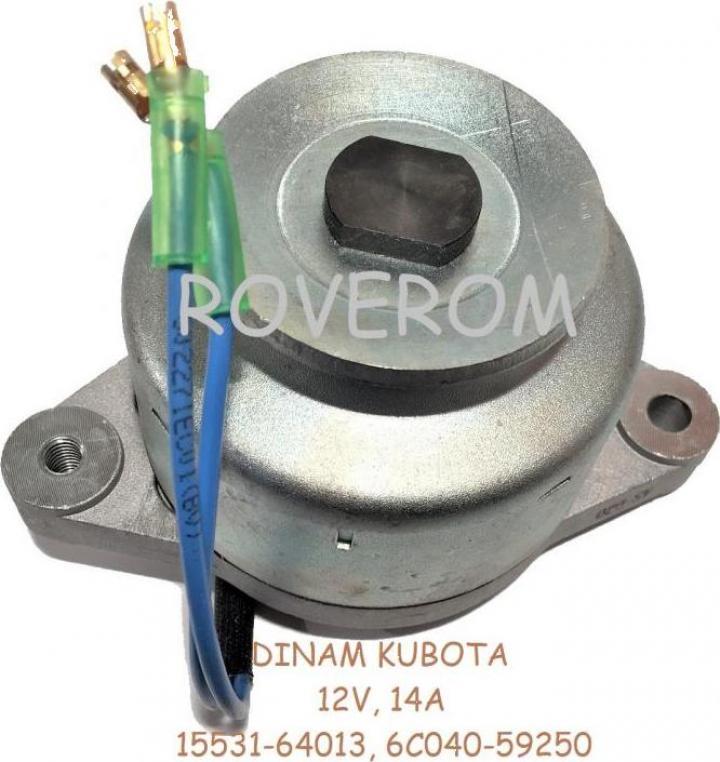 Alternator (dinam) Kubota, 12V, 14A