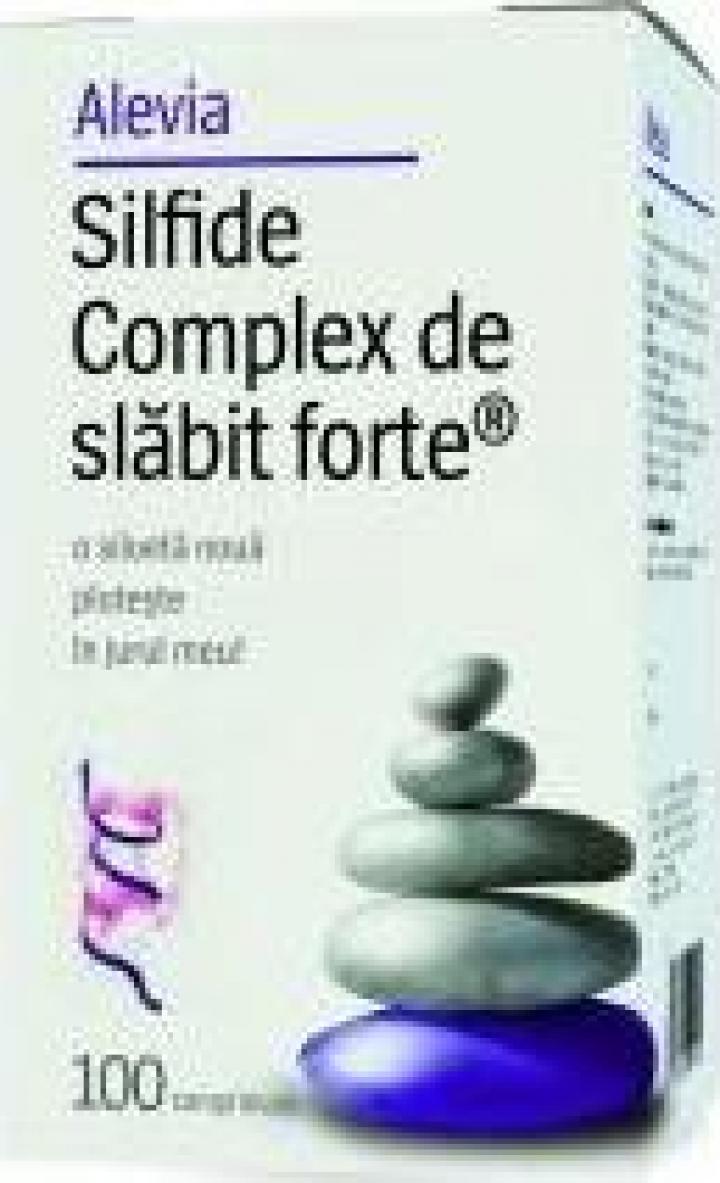 Supliment alimentar Complex Slabit Forte (Silfide) - 100 cps
