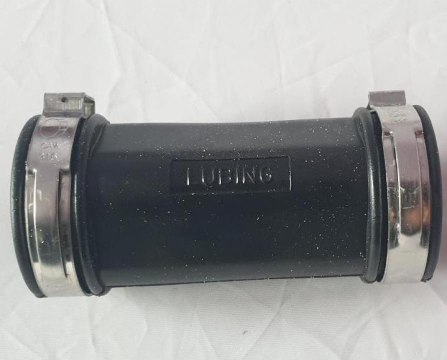 Conector cauciuc cu coliere linie adapare 22mm