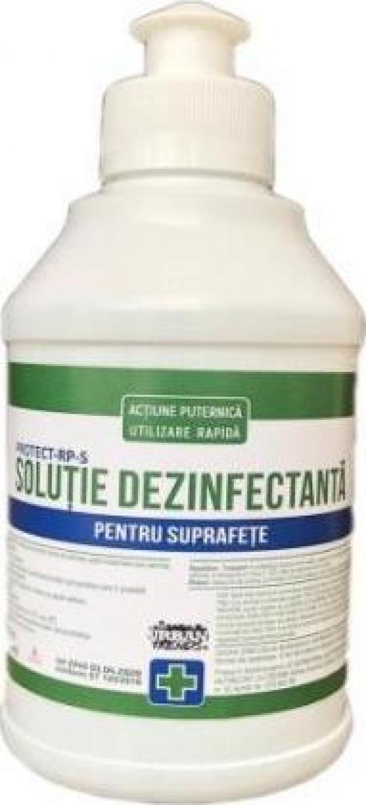 Solutie dezinfectanta pentru suprafete, 250 ml