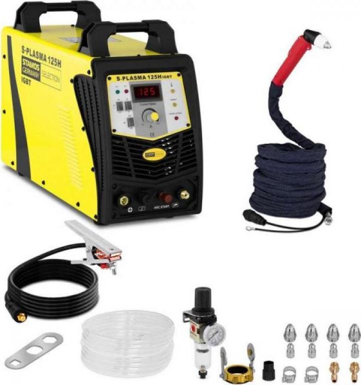 Aparat taiere plasma 125A 400V Stamos S-plasma 125H 10020067