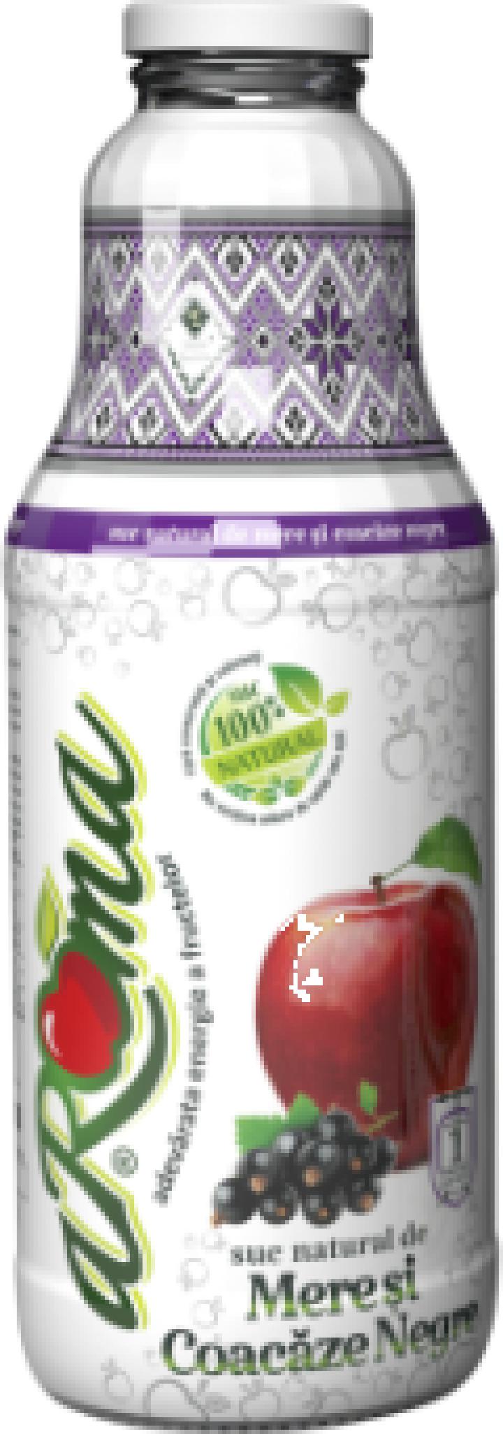 Suc natural de mere si coacaze - Aroma 1 L