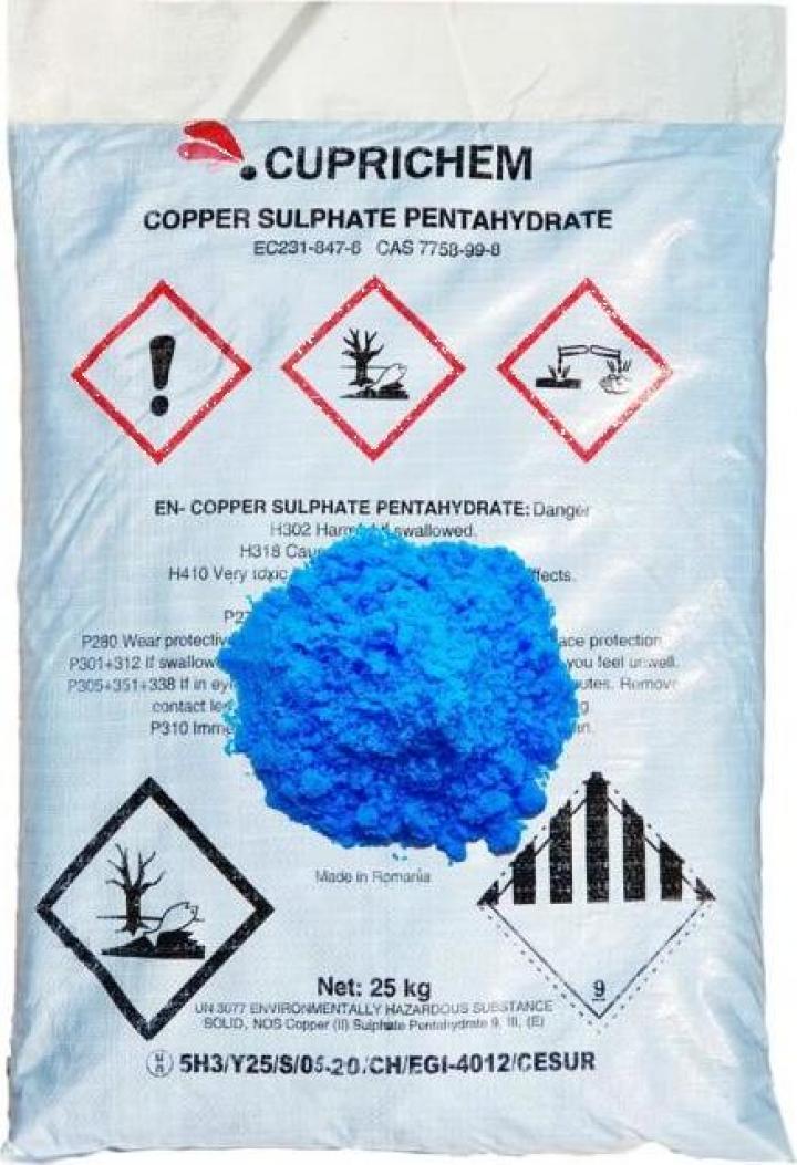 Sulfat de cupru