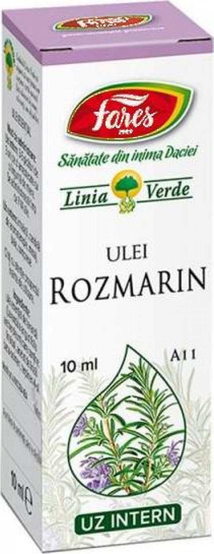 Ulei esential de Rozmarin A11 - 10 ml Fares