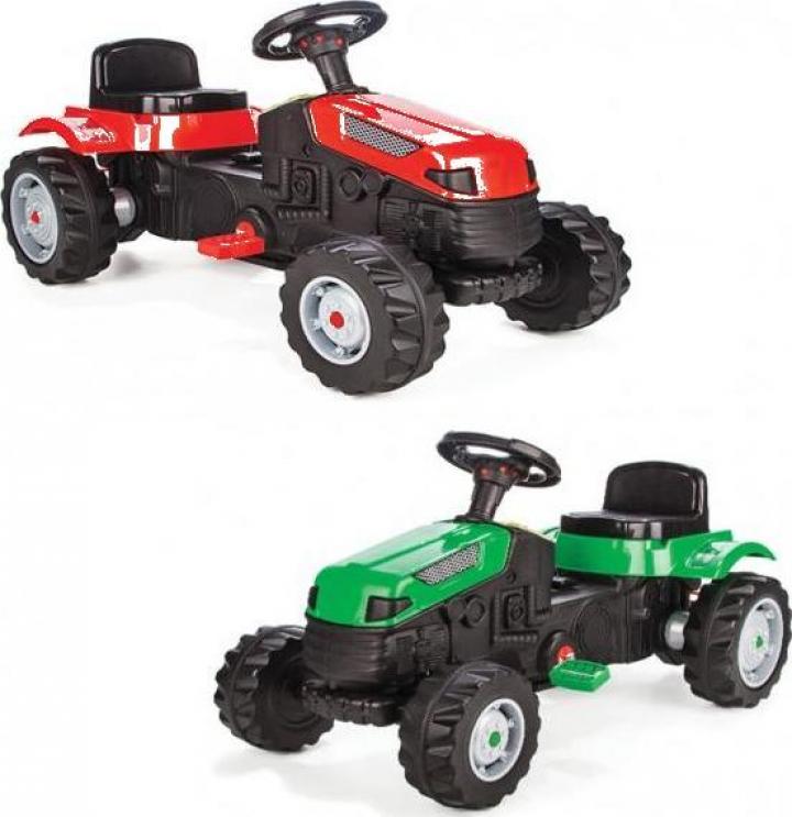 Jucarie masinuta tractor cu pedale, Tractor Active 07-314